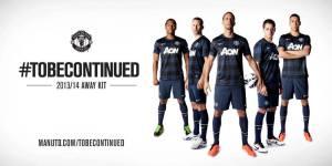 MUFC Away Jersey 2013