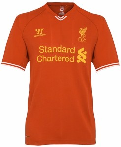 Liverpool kit for 2013