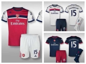 Possible new 2014 arsenal home kit from adidas