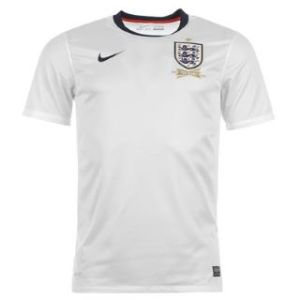 The all new Nike 2013 England home jersey