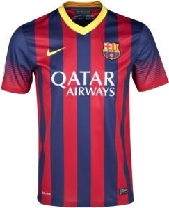 Barcelona Home Jersey 2013