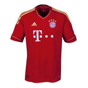 Bayern Muenchen Home Jersey 2012 - 2013