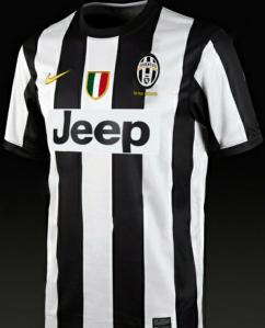 Juventus Home Jersey 2013