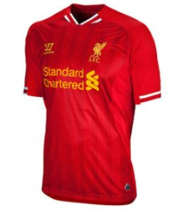 Liverpool FC Home Jersey 2013