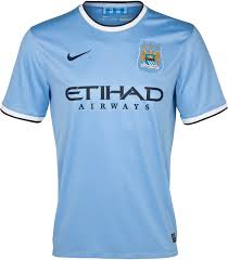 Manchester City Home Jersey 2013