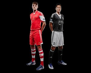 Southampton Home and Away Jersey 2013