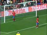It makes us feel better that even a player of David Villa's quality can miss an opengoal!