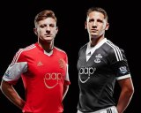 Southampton FC 2013 Home and Away kit