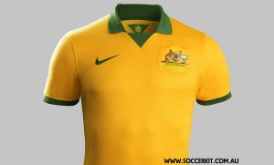 Australia 2014 World Cup Jersey