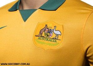 Nike Australia Home Jersey 2014